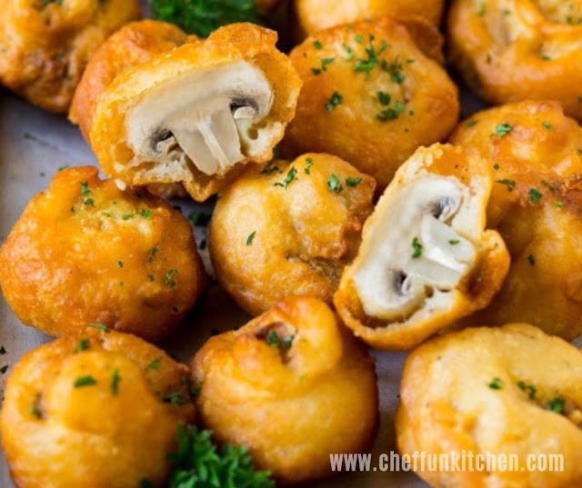 Savory Fried Mushroom Recipe
