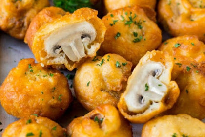 Savory Fried Mushroom Recipe