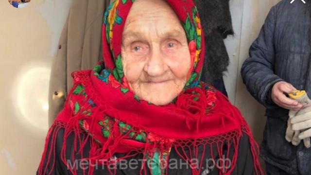 Тиктокерша исполнила мечту 92-летней участницы ВОВ о постройке бани