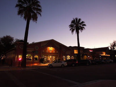 11th Street, Paso Robles, at Dusk,11-7-15, © B. Radisavljevic