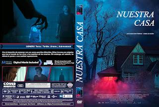 CARATULA our house - NUESTRA CASA 2018 [ COVER DVD ]