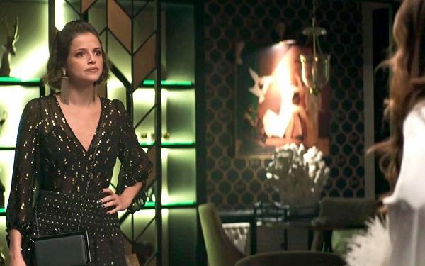 Jô diz para Maria da Paz que não estava em leilão (Imagem: Reprodução/TV Globo)