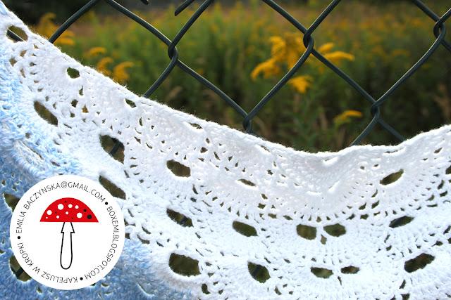 Crochet shawl – chusta na szydełku 01