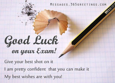 Best Of Luck For Exam Quotes