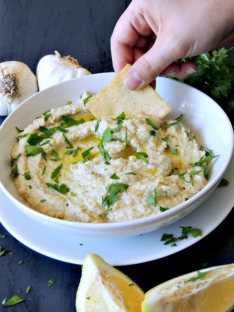 Creamy Artichoke and White Bean Dip - Switch up your normal hummus ...