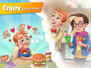 Crie o seu personagem e parta para uma grande aventura culinária!