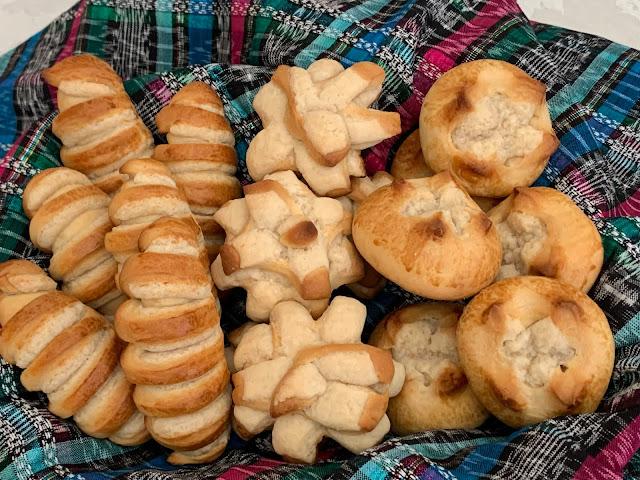 Pan Dulce, Guatemalan Bread, Gusanitos, Gallinitas, Besitos