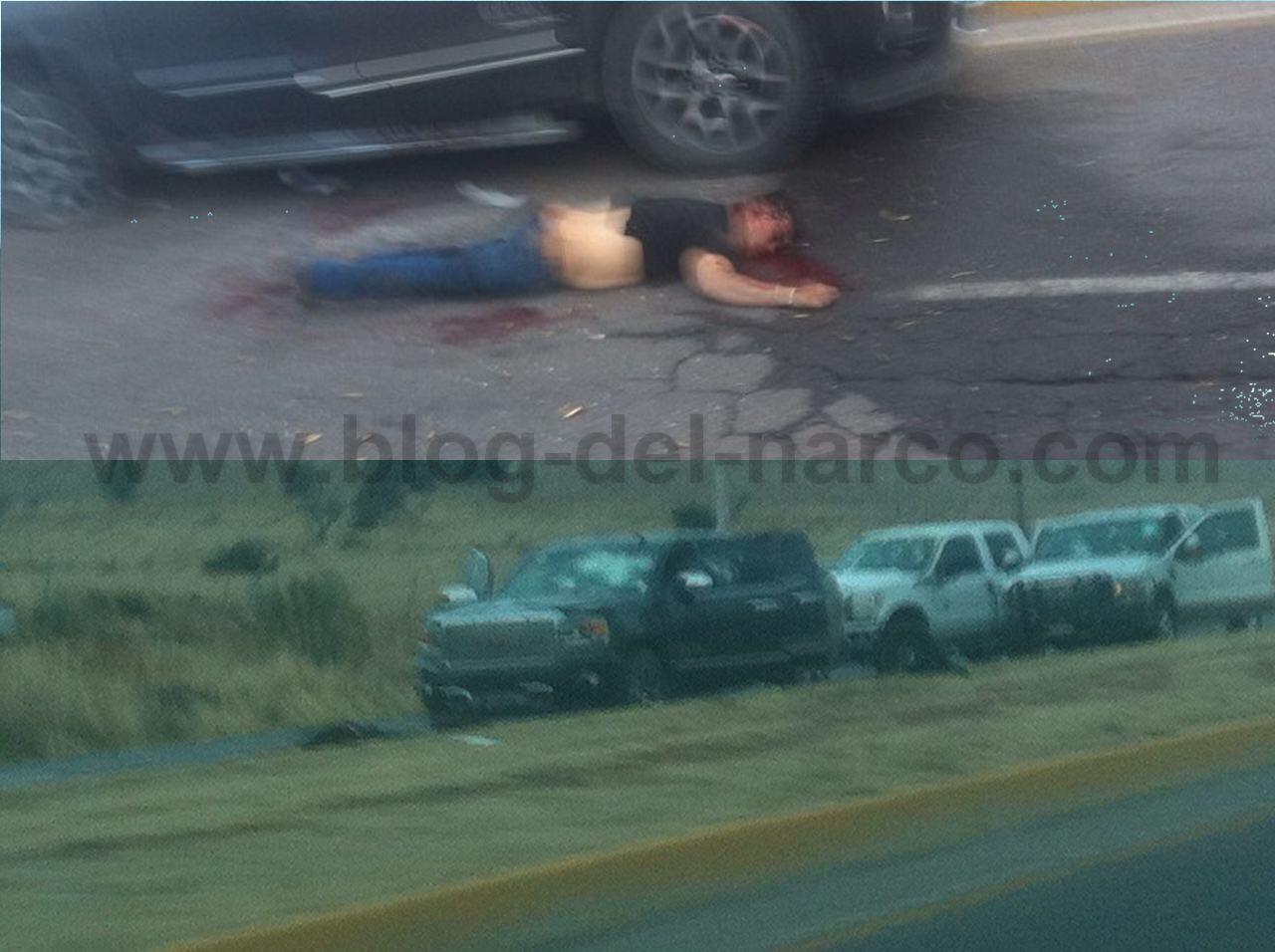 Fotografias y Videos: tremendo enfrentamiento entre Policías y Sicarios en Chihuahua