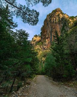 olukdere kanyonu dilek yarımadası güzelçamlı milli park gezilecek yerler doğa yürüyüşü