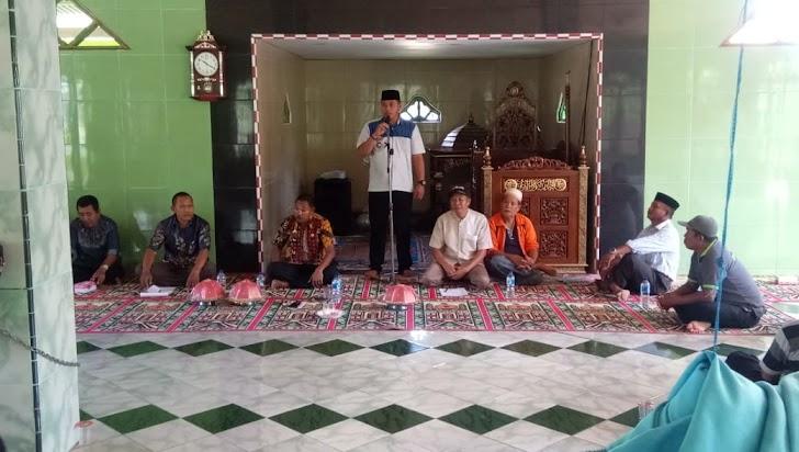 Camat Marbo, Kades, Iman Desa dan Kadus Serta Iman Dusun Harus Melakukan Gerakan Lihat Sampah Pungut