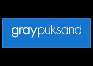 Gray Puksand Logo Vector