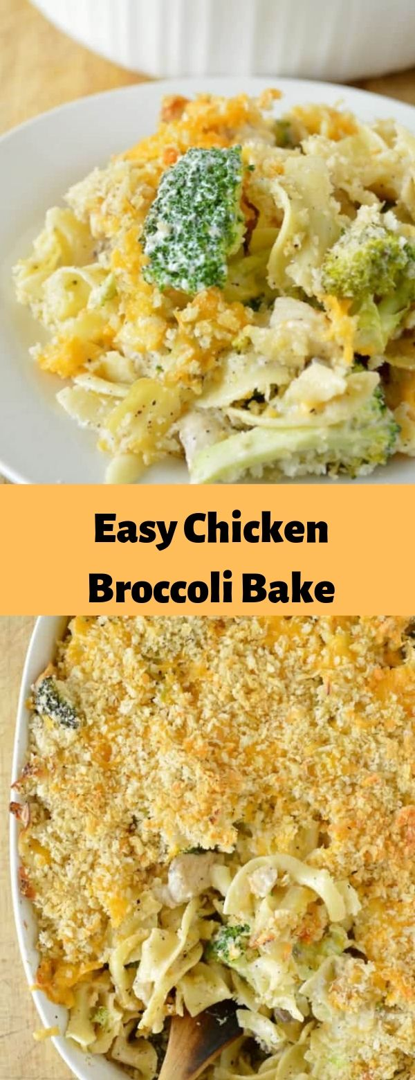 Easy Chicken Broccoli Bake