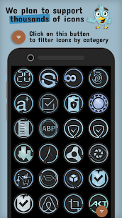 The Azulox Icon Pack (Dark version) v48.0 [Patched] Apk