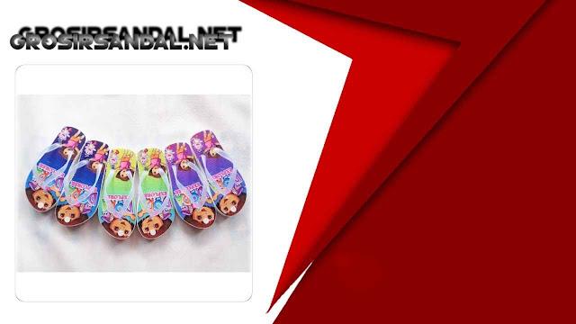 Sandal Karakter Anak GSJ - Ditributor Sandal Spon Anak