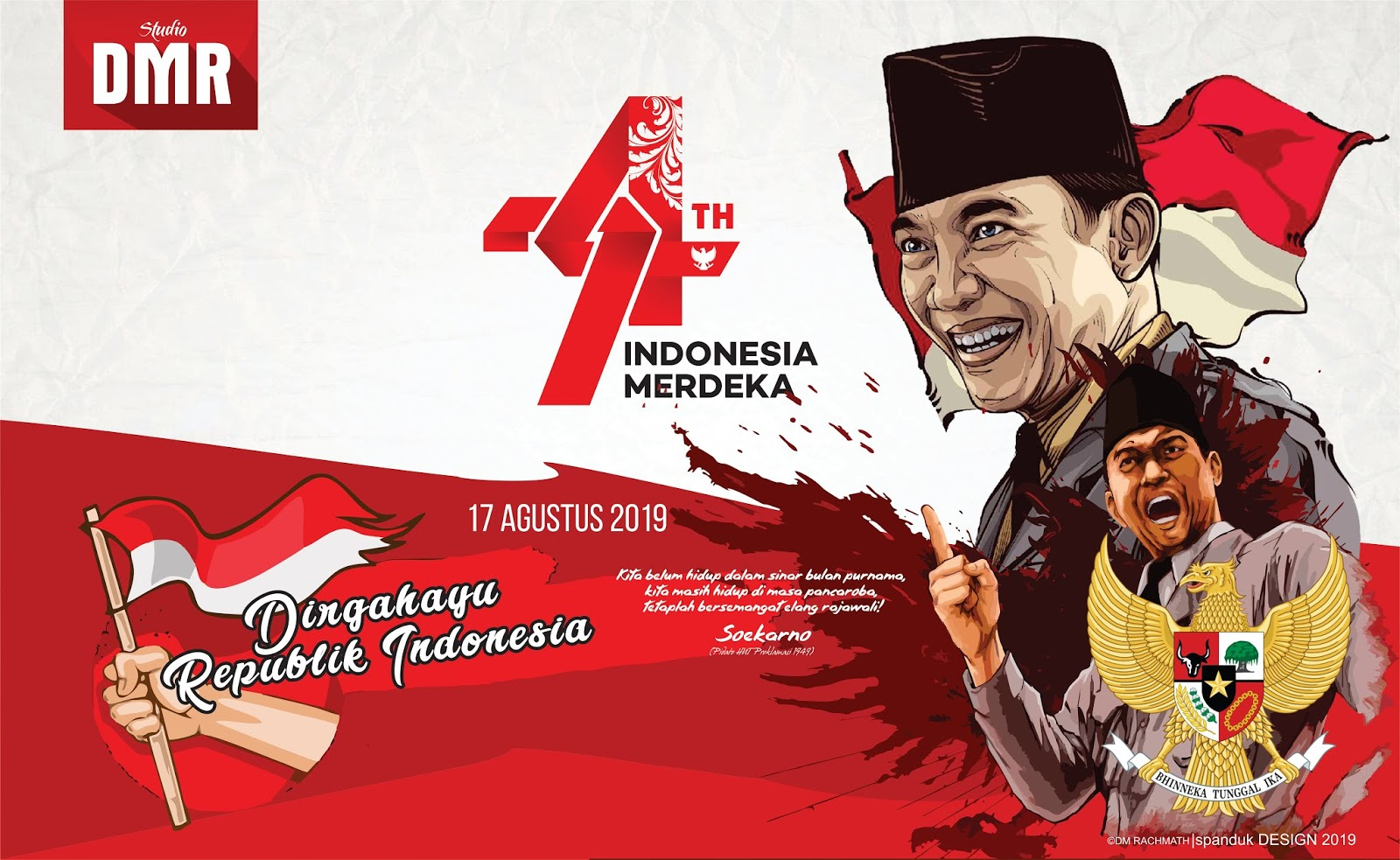 Cantik Contoh Poster Kemerdekaan Ri 74 Koleksi Poster