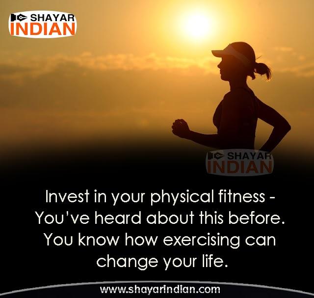 Fitness Quotes, Status
