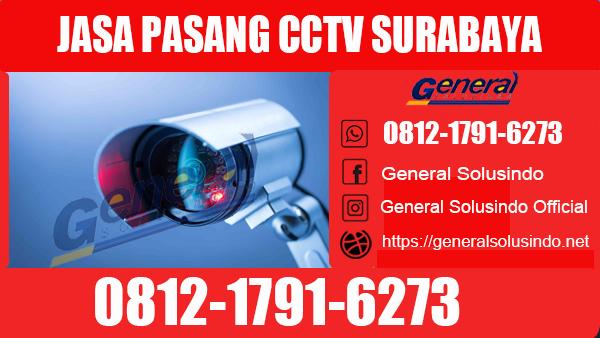 Jasa Pasang CCTV Wiyung Surabaya