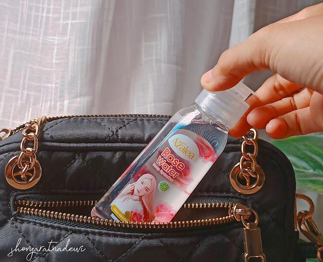 Review Azalea Deep Hydration Rose Water