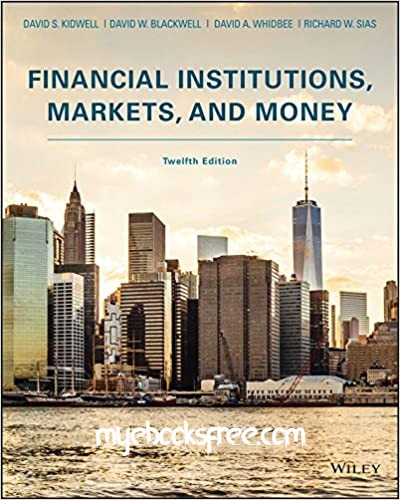 Financial Institutions, Markets, and Money Pdf Book Download