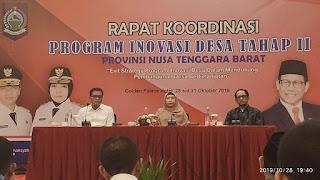 Wagub NTB: Desa Butuh Sentuhan Inovasi, Kreativitas dan Tekad Kuat.