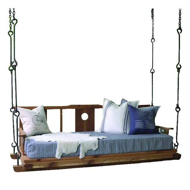 Red Egg Double Happiness Porch Bed