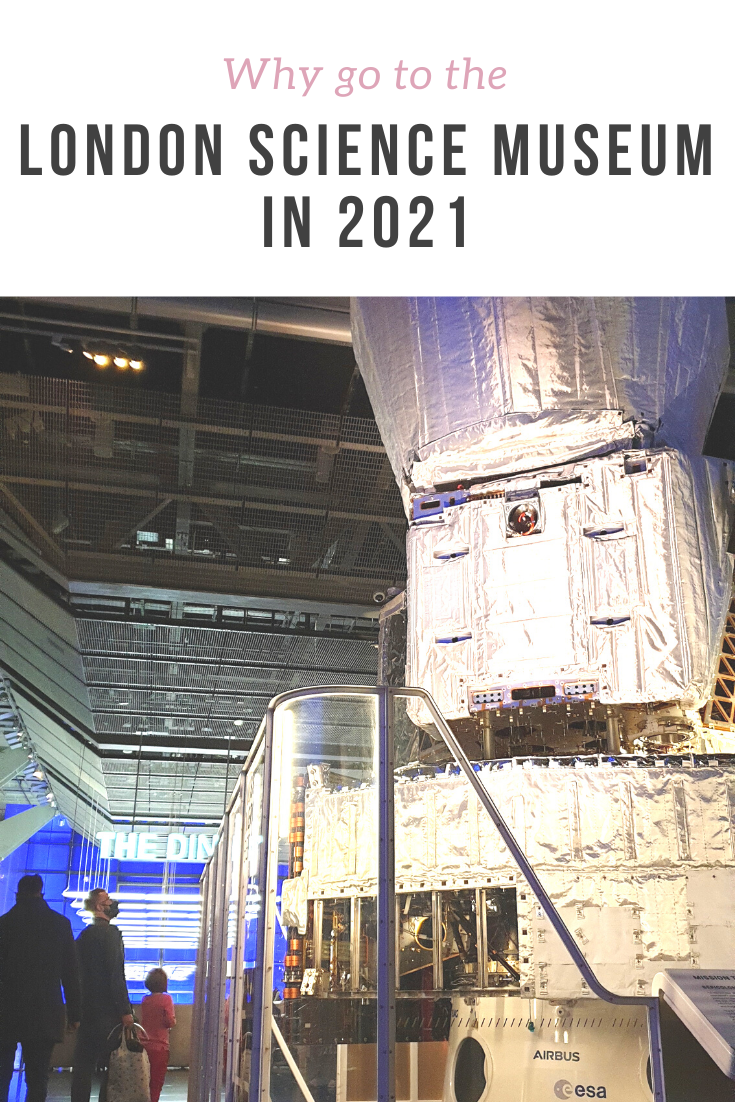 How London Science Museum is like in 2021, and how safe is it to visit with corona restrictions