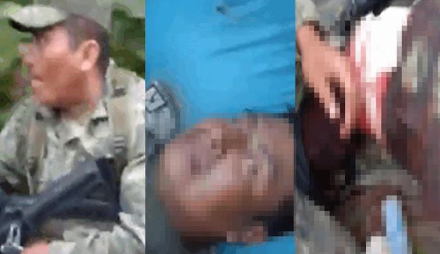 VIDEO.- No mam..es güey, hijos de su pta madre... dice Militar herido, Sicarios armados hasta los dientes emboscan a soldados