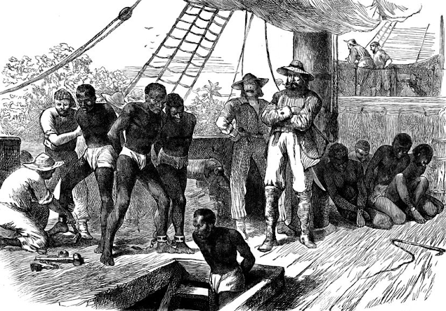 imagen de la esclavitud en el nuevo mundo