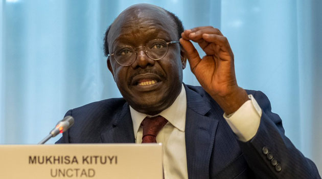 (UNCTAD) Mukhisa Kituyi photo