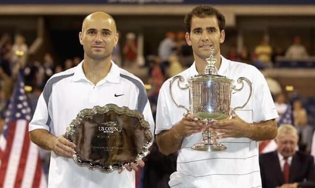 Andre Agassi y Pete Sampras, grandes rivalidades deportivas de la historia
