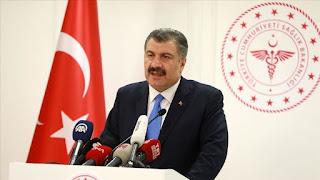 تركيا.. تسجيل 12 إصابة جديدة بكورونا