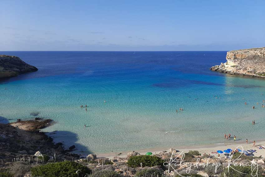 Spiaggia  dei Conigli , czyli Plaża Królików – najpiękniejsza plaża świata