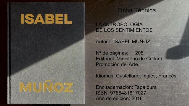 Libro fotografia. Isabel Muñoz