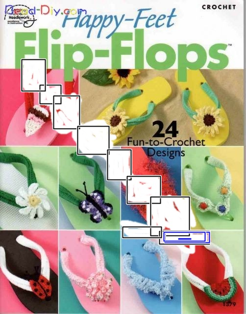 Chinelos Decorados-Revista Happy-Feet