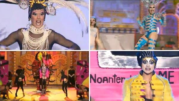 vídeo resumen gala Drag Queen 2016 Carnaval Las Palmas