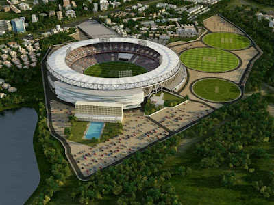 Sardar Patel Stadium world's largest stadium and best in class facilities