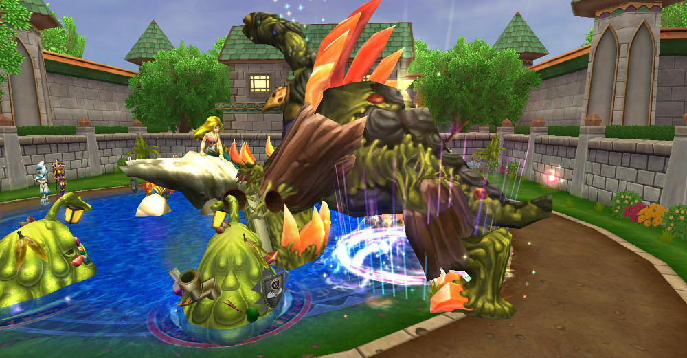 King Detritus Guide (Abandoned House)   Wizard101