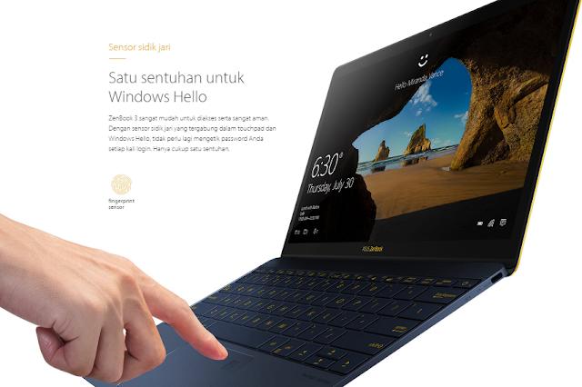 ASUS ZenBook 3 Laptop Tipis Performa Maksimal Jadi Impian untuk dimiliki