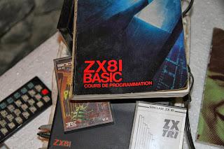 photo cours de programation ZX81 livre de basic pour ordinateur ZX81 de sinclair photos du livre jeux zx81
