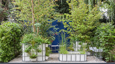 Un 'bosque de bolsillo' urbano y otros inspiradores jardines en contenedores para espacios reducidos