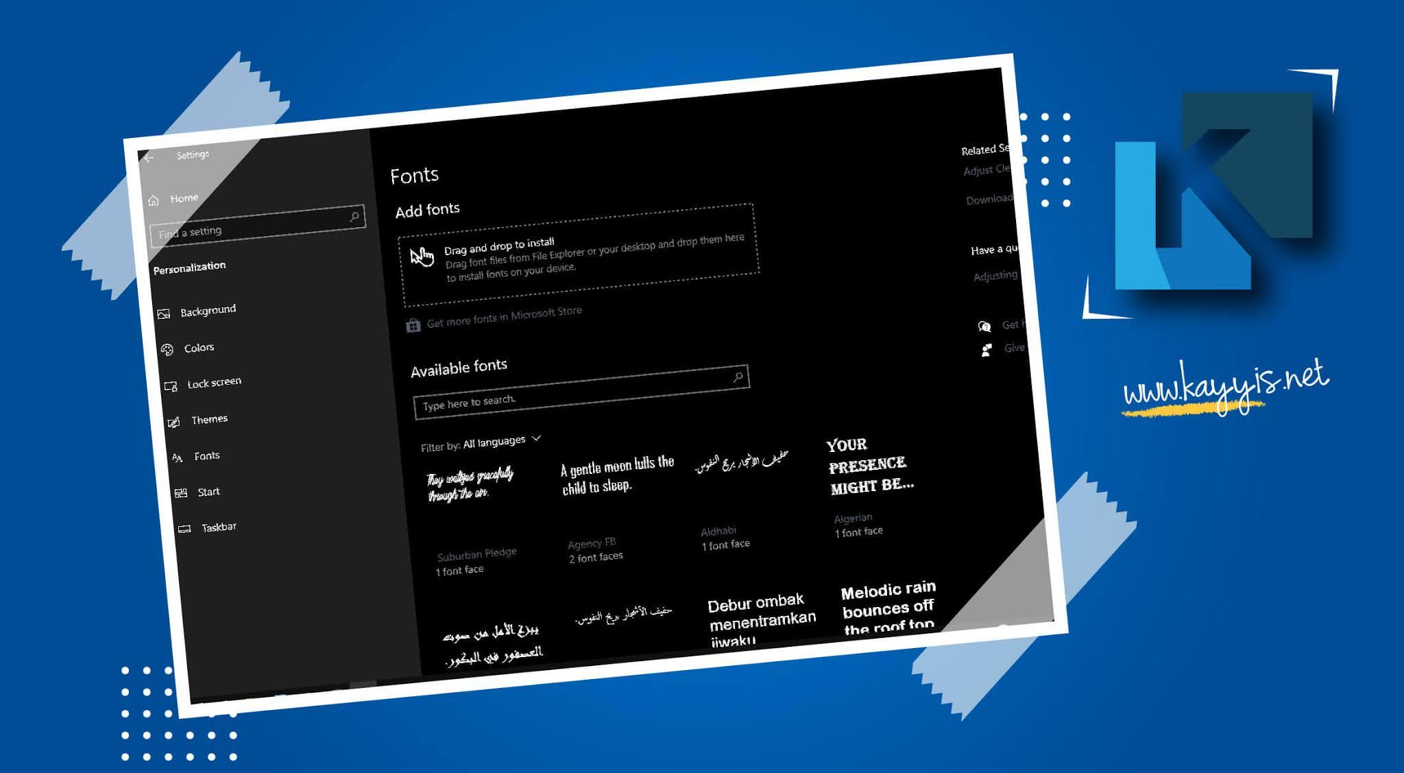 Download Font Premium Rasa Gratis Untuk Desain Grafis