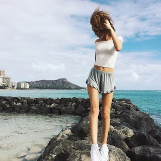 HG130 Brandy Melville Inspired Ruffle Shorts