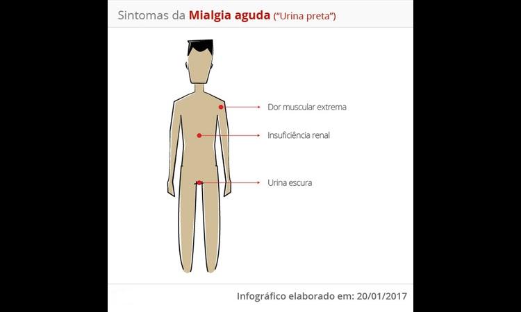 Oito casos de doença que deixa 'urina preta' foram registrados este ano na Bahia