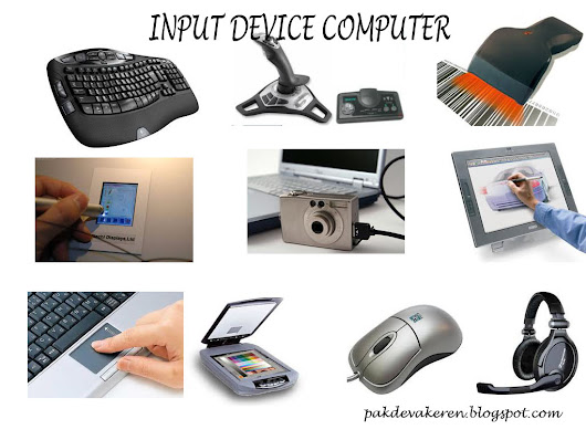 input devices used with a computer