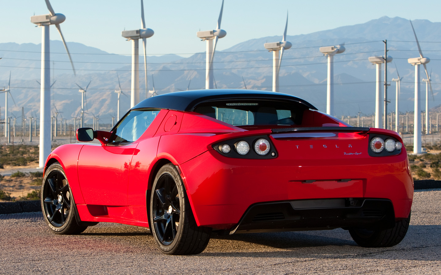 Super Cars: Tesla Roadster