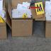 Dos detenidos en l'Olleria por vender mascarillas sin el sello CE a empresas de Alicante y Valencia