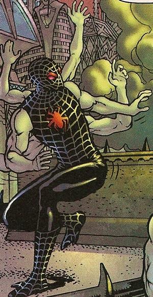 Esta versión alternativa de Spiderman aparece en Tierra 5113