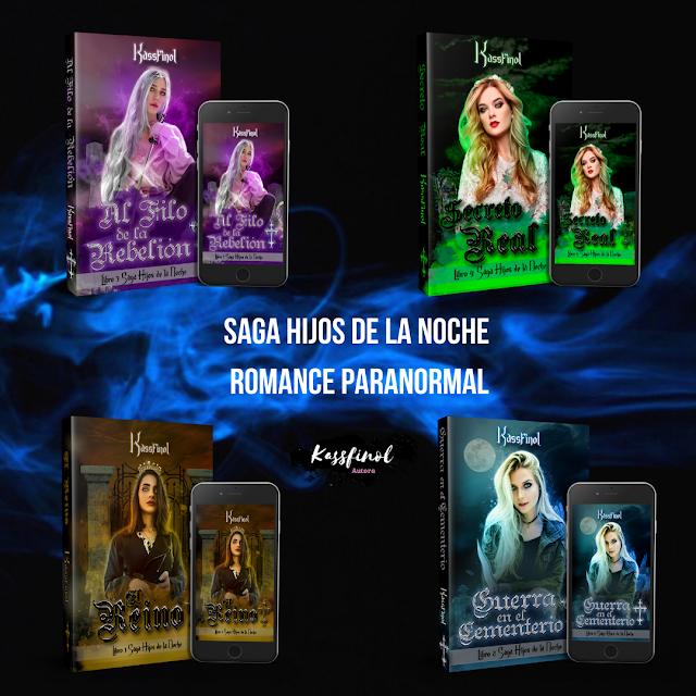 romance paranormal saga hijos de la noche