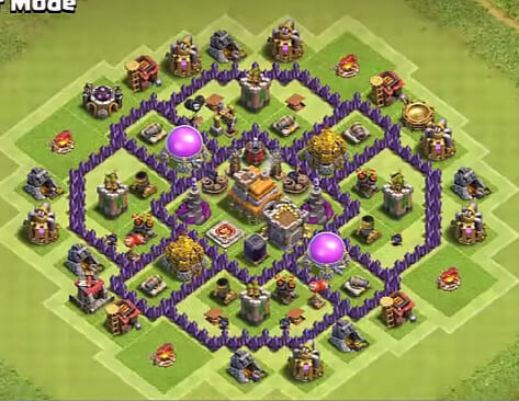 epic town hall 7 farming base for 2018