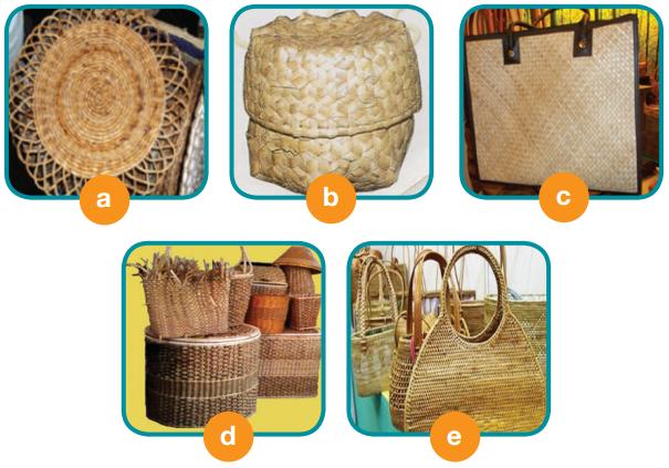 Produk-Produk Kerajinan dari Serat Tumbuhan dan Hewan (Alat Untuk Memproduksi Kerajinan Serat)